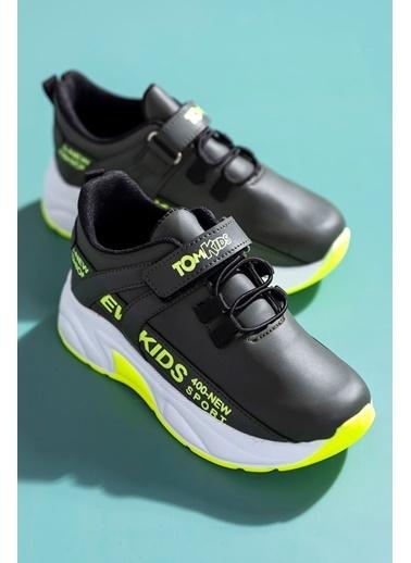 Tonny Black Haki Sarı Çocuk Spor Ayakkabı Dg674 Haki